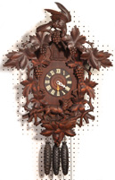FINE BLACK FOREST WALL CLOCK