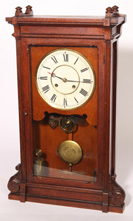 SETH THOMAS OAK REGULATOR CLOCK