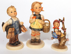 THREE HUMMEL FIGURES