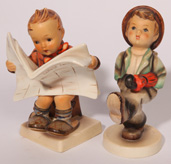 TWO HUMMEL FIGURES