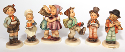 SIX HUMMEL FIGURES
