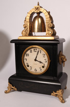 SCARCE GILBERT CASSIUS SHELF CLOCK