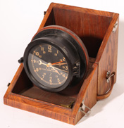 CASED U.S. ARMY M2 MESSAGE CENTER CLOCK