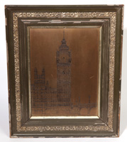 FINE BRITISH PICTURE FRAME CLOCK