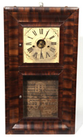E.M. WELSH OGEE CLOCK