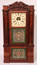 BIRGE, BECK & CO. TRIPLE DECKER CLOCK