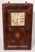 RARE WIGHTMAN & SPERRY OGEE CLOCK