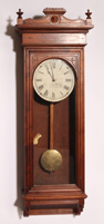 ELECTRIC JEWELERS REGULATOR CLOCK