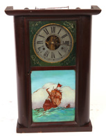 JEROME, GILBERT, GRANT & CO. QUARTER COLUMN CLOCK