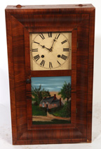 NEW HAVEN MINIATURE OGEE CLOCK