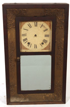 UNUSUAL SMITH & BROS. OGEE CLOCK