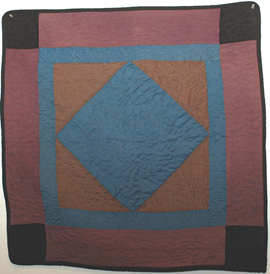 Old Amish Crib Quilt