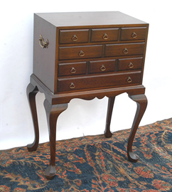 Mahogany Silver Chest