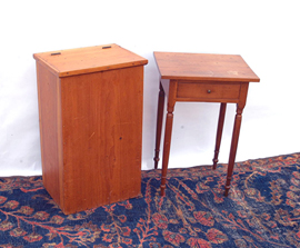 Early Cherry Night Stand & Box