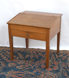 Walnut School Master's Desk