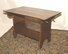 Early Hutch Table