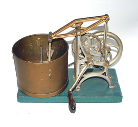 Unusual Hand Crank Cutting Machine