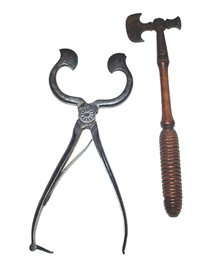 Sugar Axe & Tongs