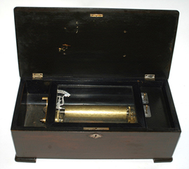 10-Tune Cylinder Music Box