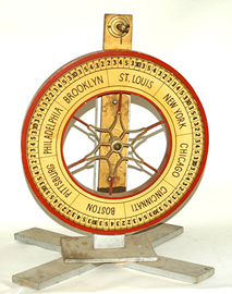 Wooden Gambling Wheel