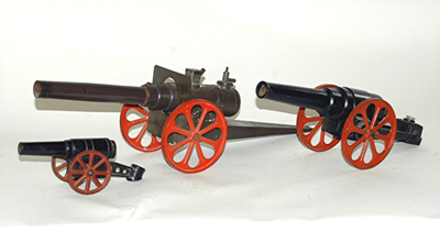 Cast Iron Toy Cannons