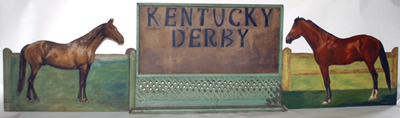 Kentucky Derby Country Store Display