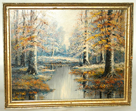William Eyden, Jr. (Indiana) Oil Painting