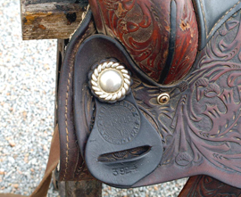 Detail of Saddle
