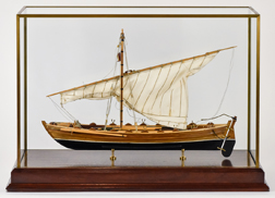 Fine Model of Lateen Rigged Sloop