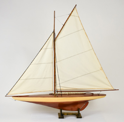 Early Pond Racing Yacht