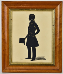Silhouette of Young Gentleman