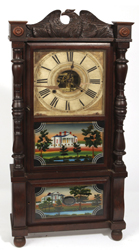Birget & Mallory Triple Decker Clock