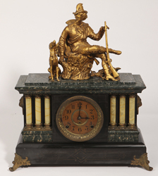 Seth Thomas Figural Mantle Clock