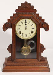 Gilbert Walnut Kitchen Mantle Clock