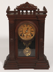 "Ingraham ""Divan"" Mantle Clock"