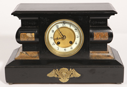 Hamburg American Clock Co. Mantle Clock