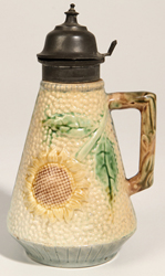 Majolica Estruscan Syrup Pitcher