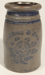 Hamilton & Jones Stoneware Canning Jar