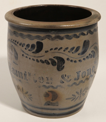 Hamilton & Jones Ovoid Stoneware Jar