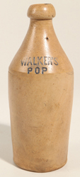 Walker's Pop Stoneware Bottle