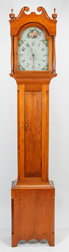 American Cherry Federal Tall Case Clock
