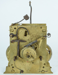 Early English Bell Strike Tall Case Clock Movement
