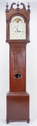 Geo. Oves, Pa. Tall Case Clock