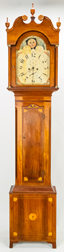 Inlaid American Cherry Tall Case Clock