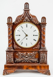 Wm Cozens & Son, London Carved Repeater Bracket Clock