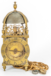 Henry Ireland Brass Lantern Clock