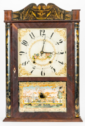 Eli Terry & Sons Half Column Shelf Clock