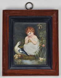 Miniature Painting by Wm. Owen