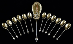 Geo. Sharp Sterling Flatware