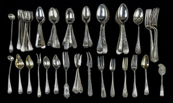 Huge Lot of American Sterling Silver Flatware